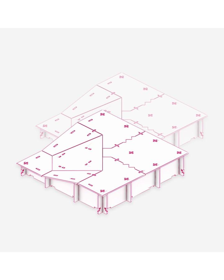 Slope Outside Corner Tile [x2] - TerrainTiles