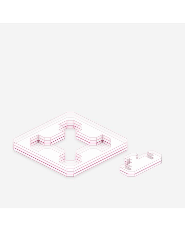 Corner Locks & Connection Combs - TerrainTiles