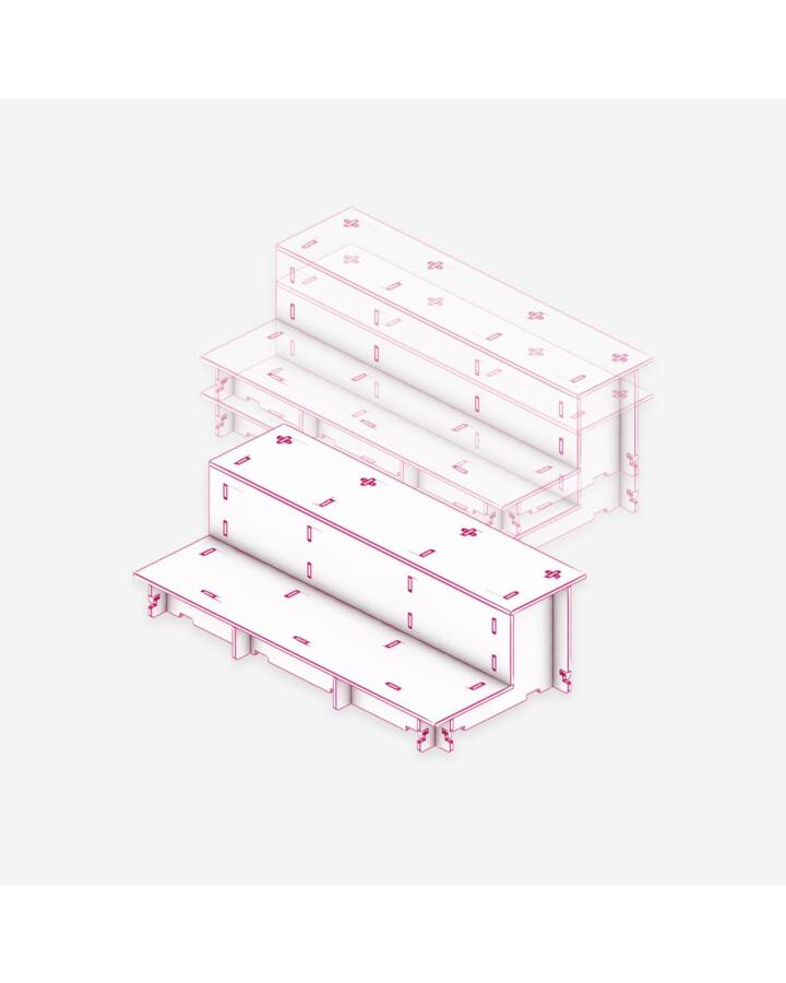 Half Cliff Tile [x3] - TerrainTiles