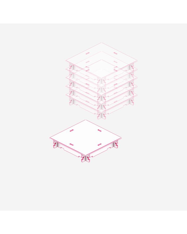 Quarter Flat [x6] - TerrainTiles