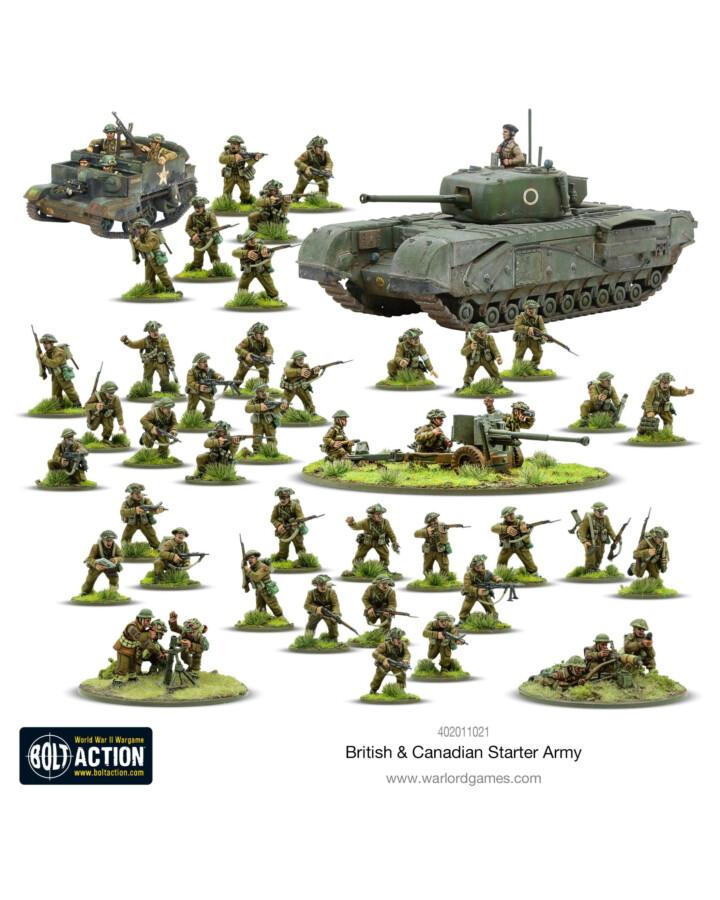 British & Canadian Army (1943-45) Starter Army