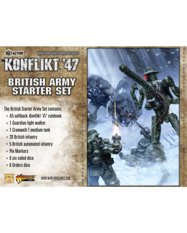 British Konflikt '47 Starter Set