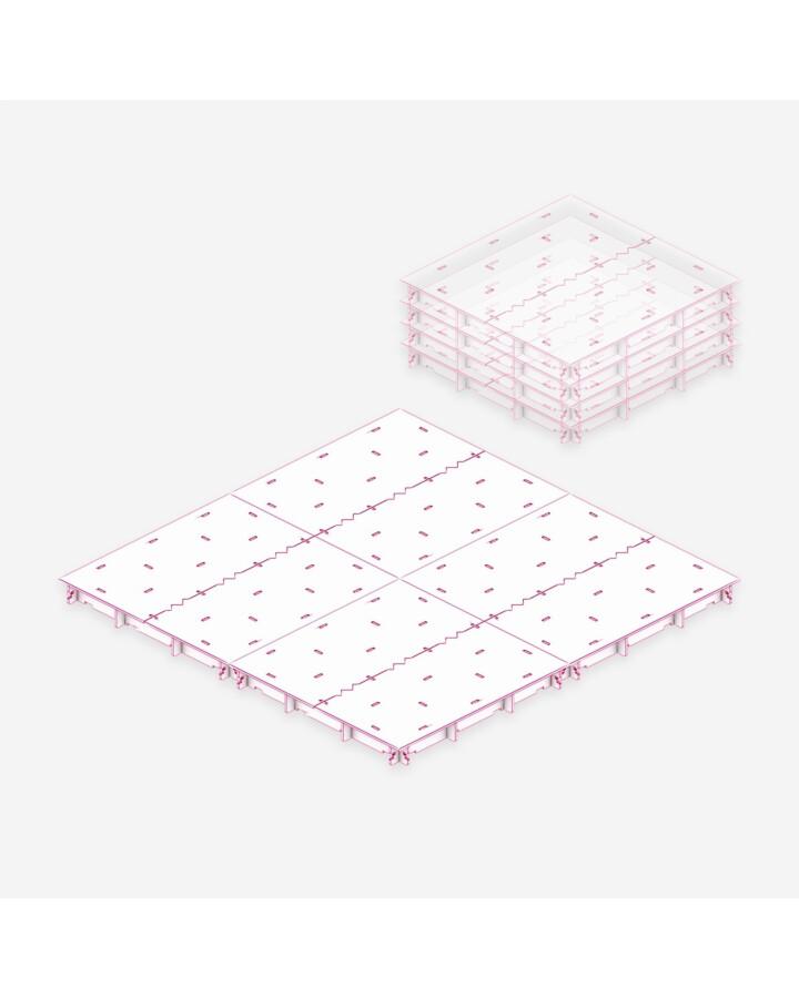 Balanced Board Set [3x3'] - TerrainTiles