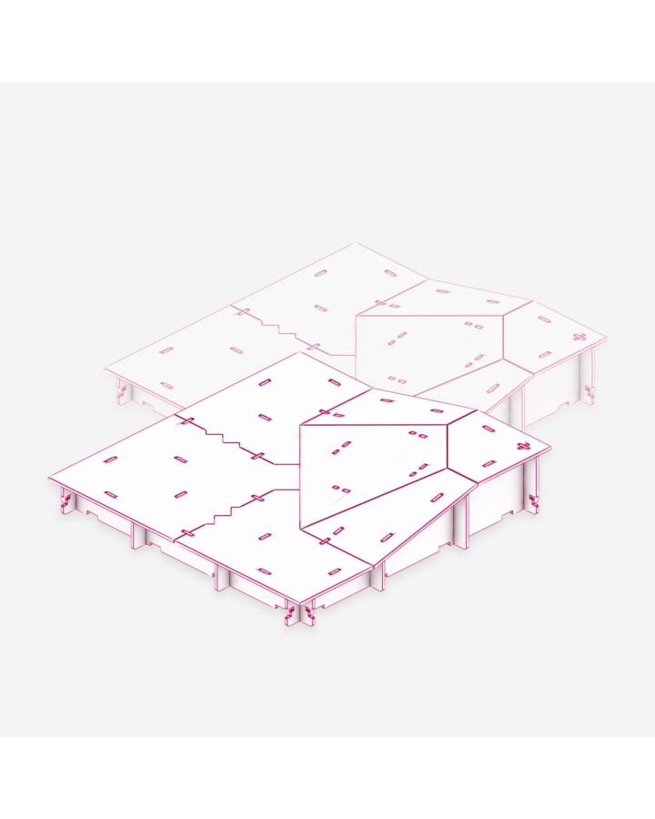 Slope Inside Corner Tile [x2] - TerrainTiles