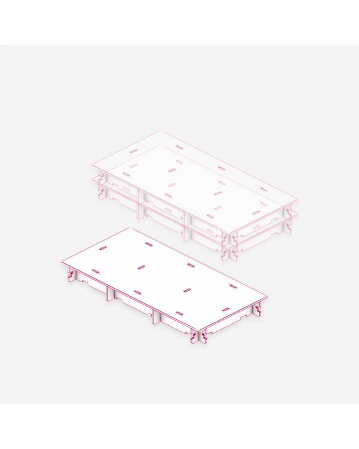 Half Flat Tile [x3] - TerrainTiles