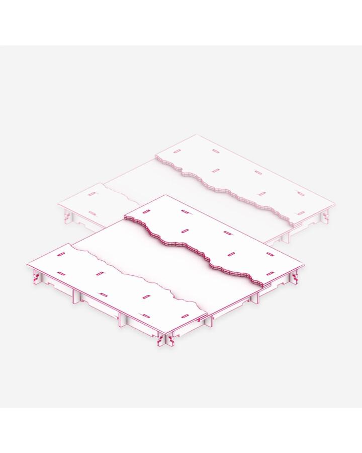 River Tile [x2] - TerrainTiles